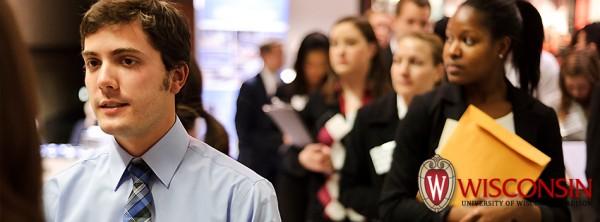 Photo: Career Fair students