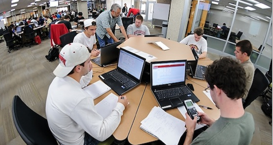 Photo: WisCEL Active Learning Lab
