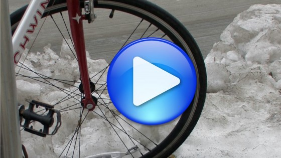 Video still: Winter Biking
