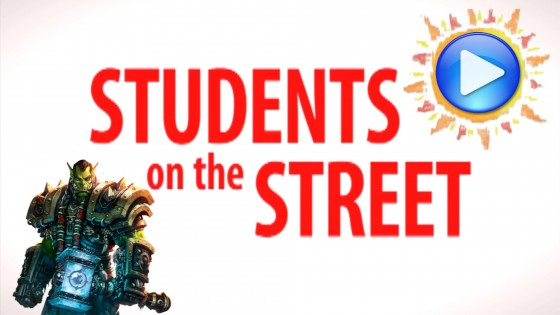 Photo: Students on the Street