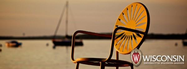 Photo: Terrace chair sunset