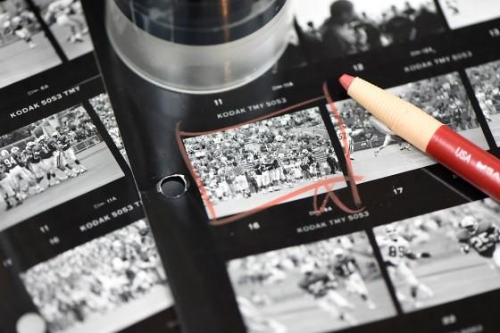 Photo: Photographer's proof sheet