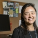 Canzi Wang, psychologist in University Health Services at the University of Wisconsin-Madison, is pictured in her office at 333 East Campus Mall on Nov. 2, 2015. (Photo by Bryce Richter / UW-Madison)