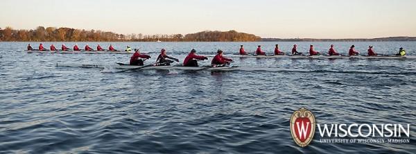 crew on lake