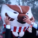 Lee Corso picks the Badgers on College GameDay, against Michigan State on Oct. 22, 2011. Sadly, the Spartans won.
